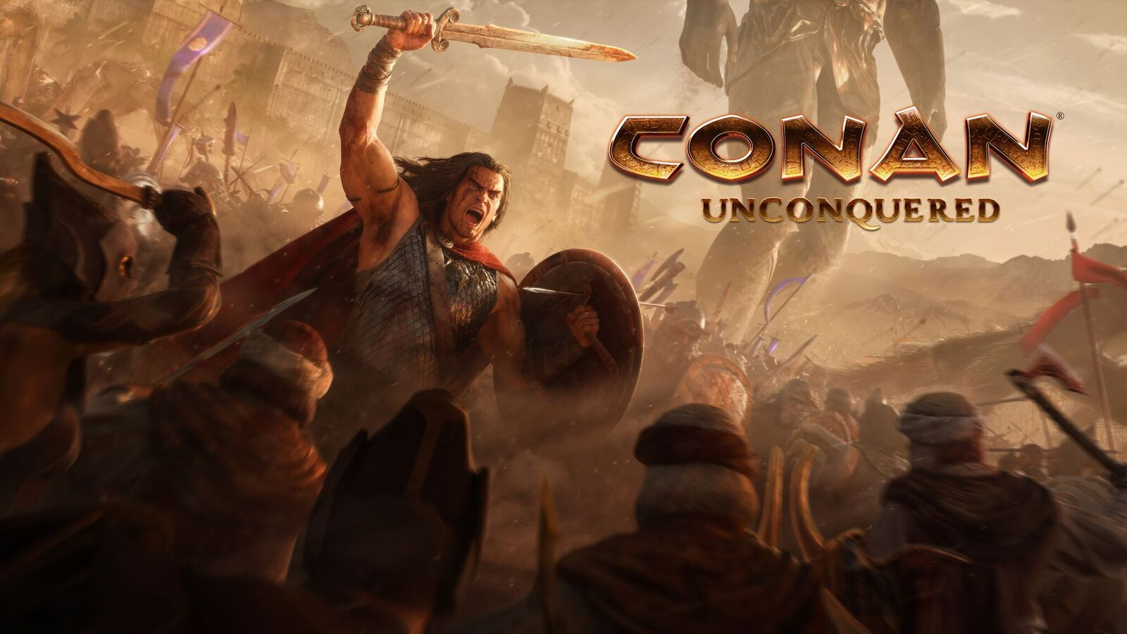 Here's our first look at Conan Unconquered, the new RTS from Command