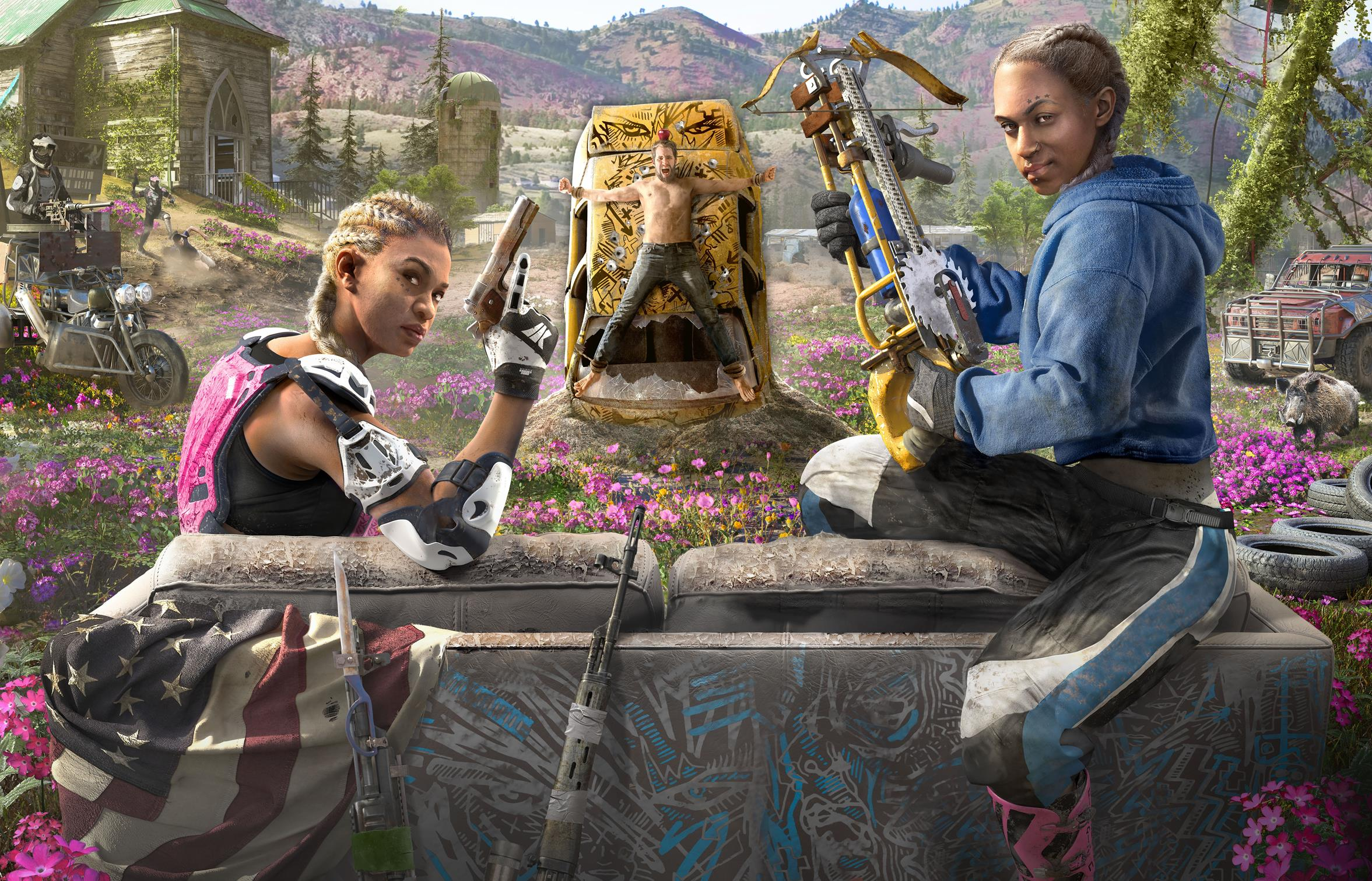 Far Cry New Dawn already 50% off in Ubisoft Store spring sale