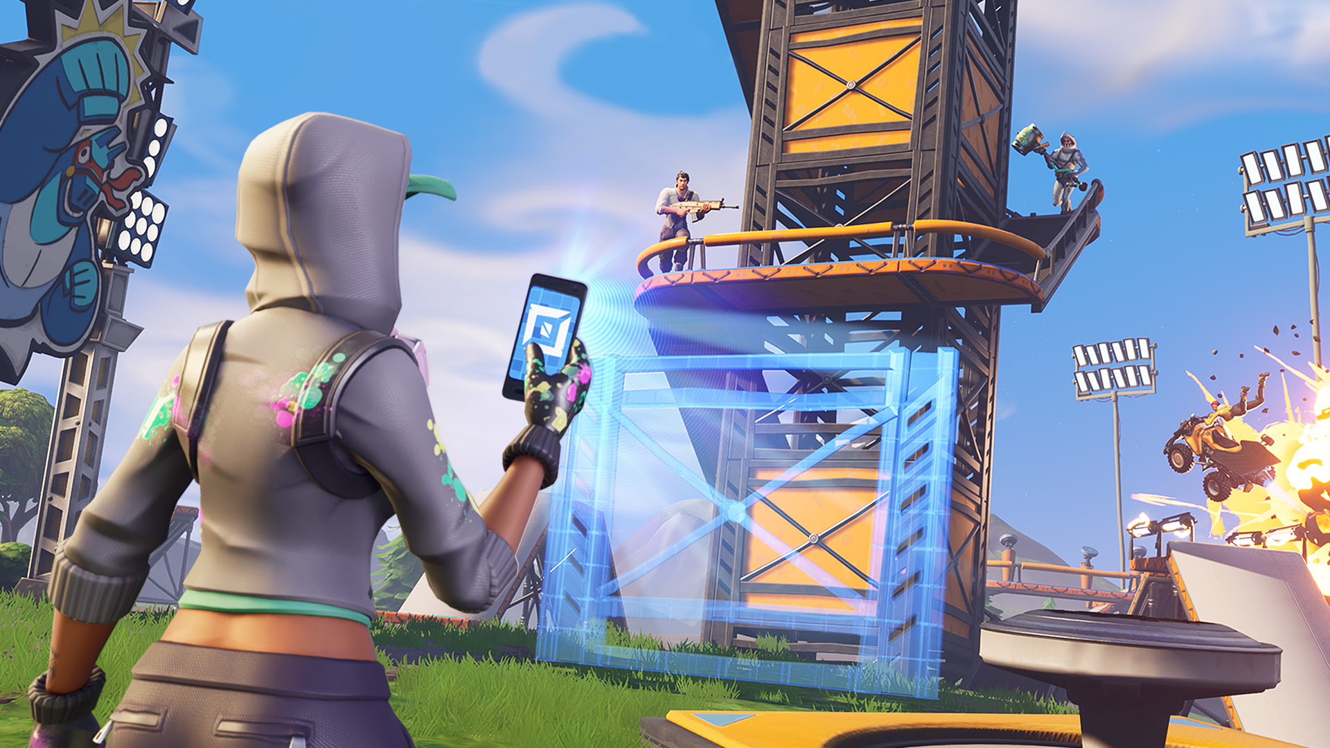 Fortnite temporarily loses improvements from latest patch, and Playground has been re-enabled
