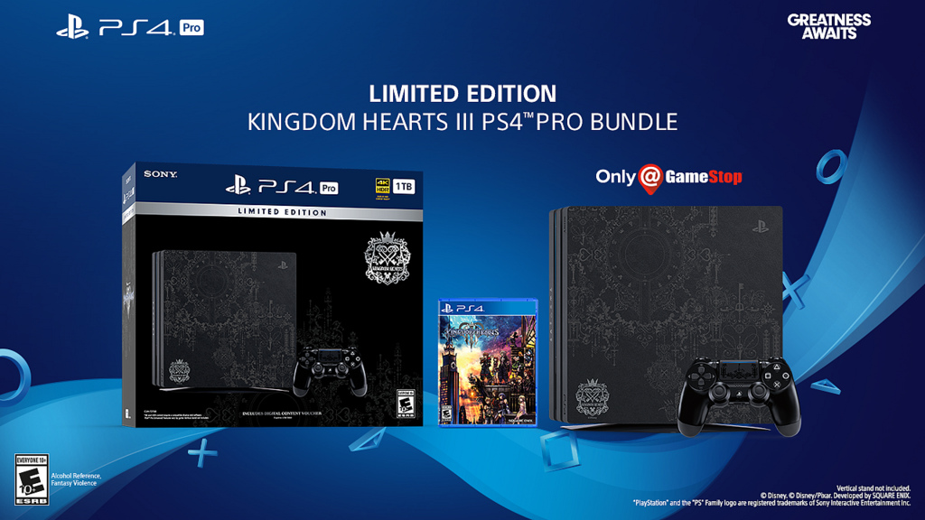 Pre-Order the Dream Drop Gorgeous Kingdom Hearts III PS4 Pro Today