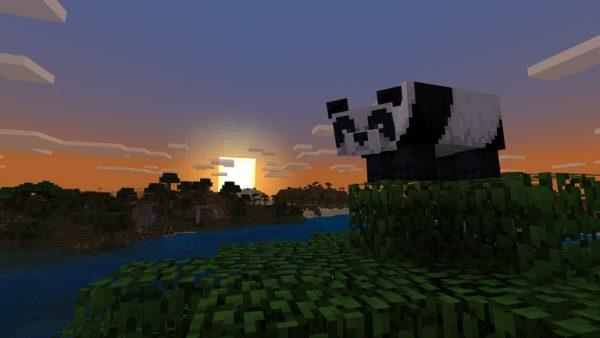 Minecraft's newest Bedrock update adds bamboo, scaffolding, pandas