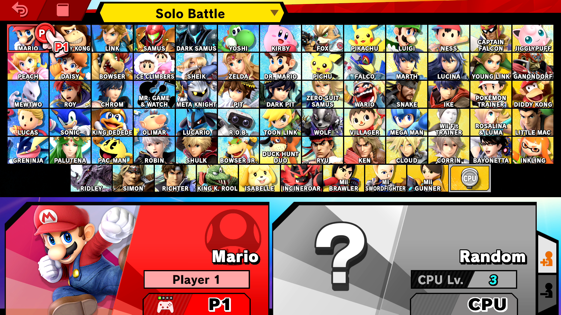 Image result for smash ultimate roster