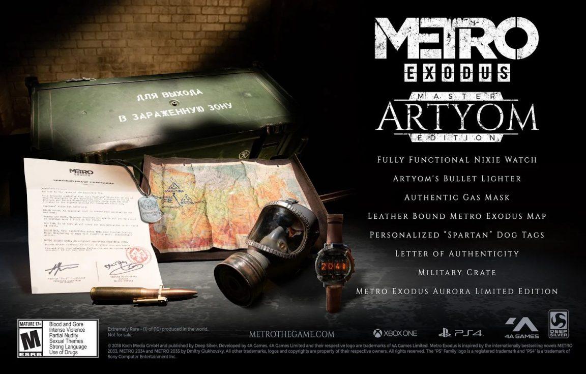 Metro Exodus Artyom Custom Edition