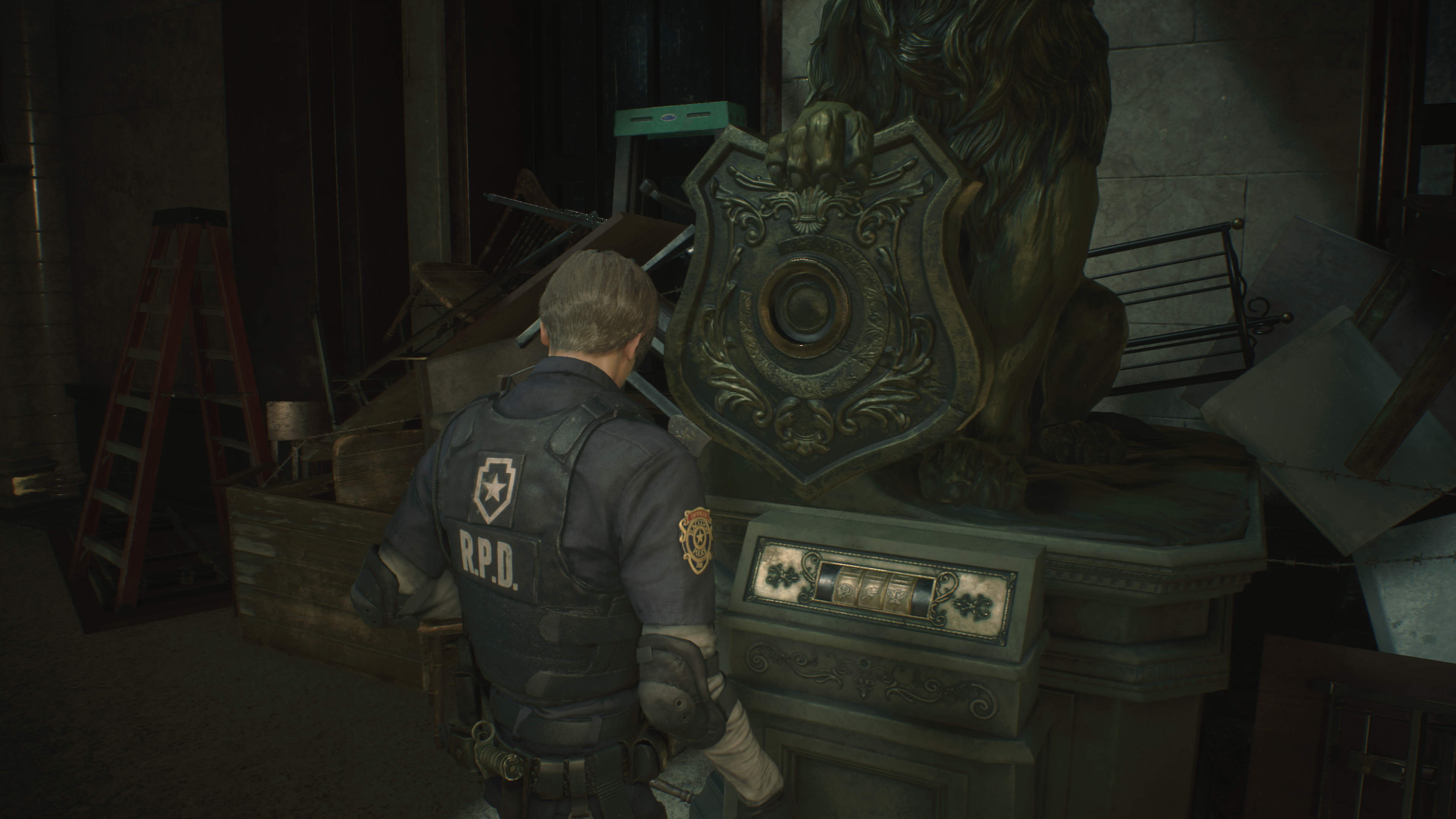 Resident Evil 2 Remake: where to find three medallions - lion
