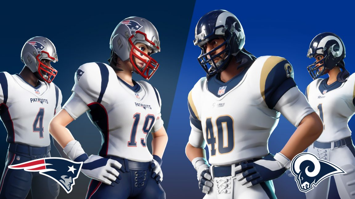 online retailer 9ac6b 2414c Fortnite players can jump into NFL Rumble LTM this weekend ...