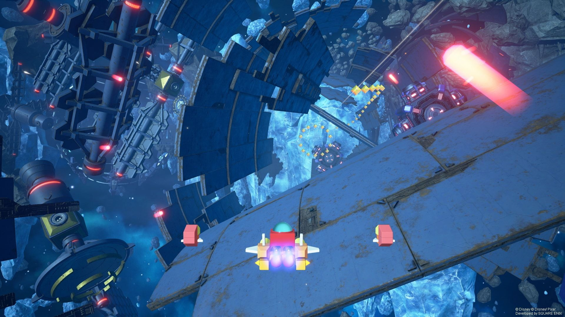 Risultati immagini per kingdom hearts 3 gummi ship