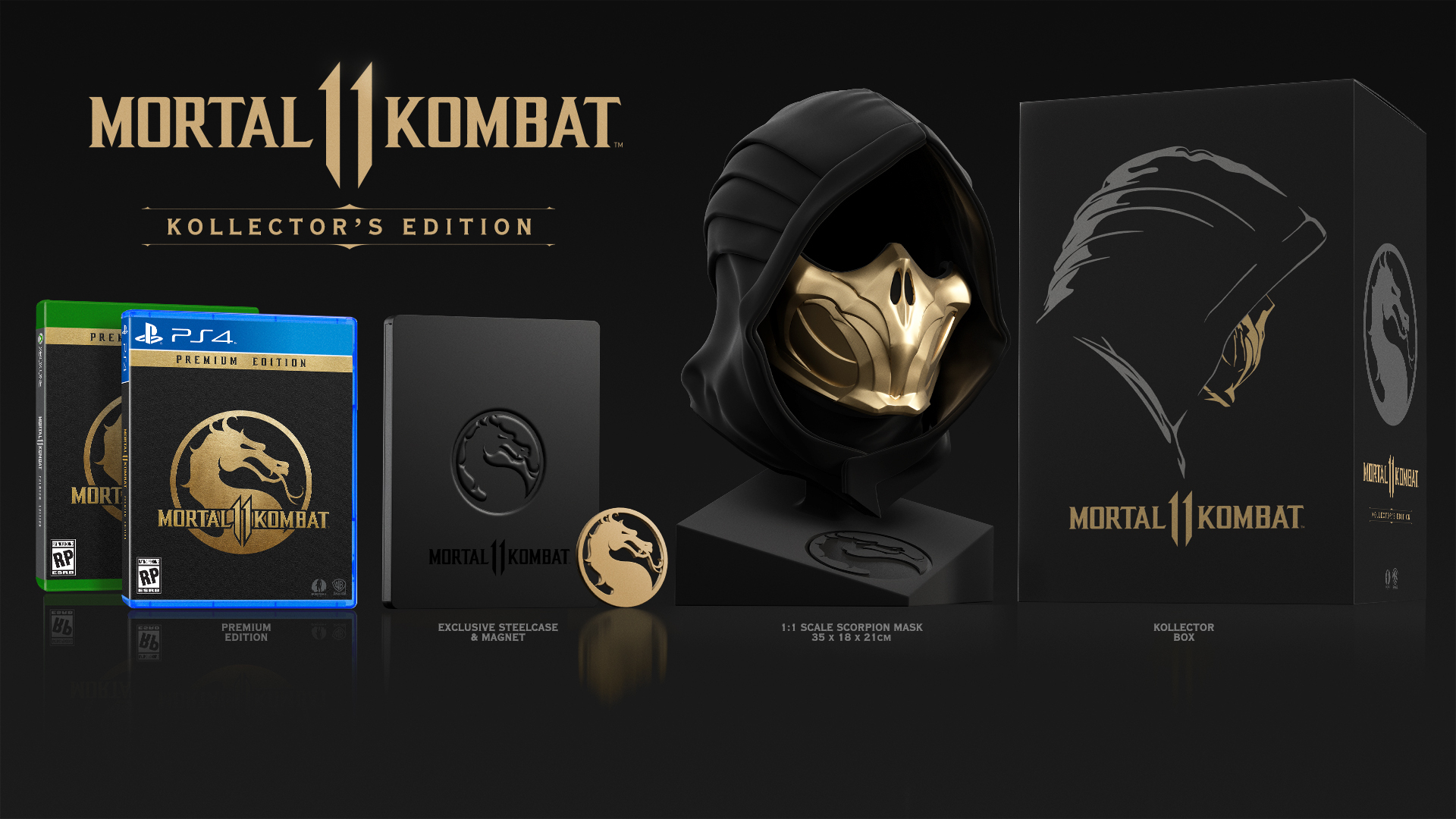 Mortal Kombat 11 Kollector S Edition Features 1 1 Replica