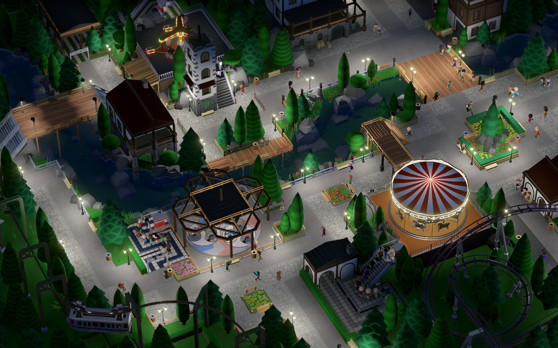 Parkitect is the management sim I've been wanting for years