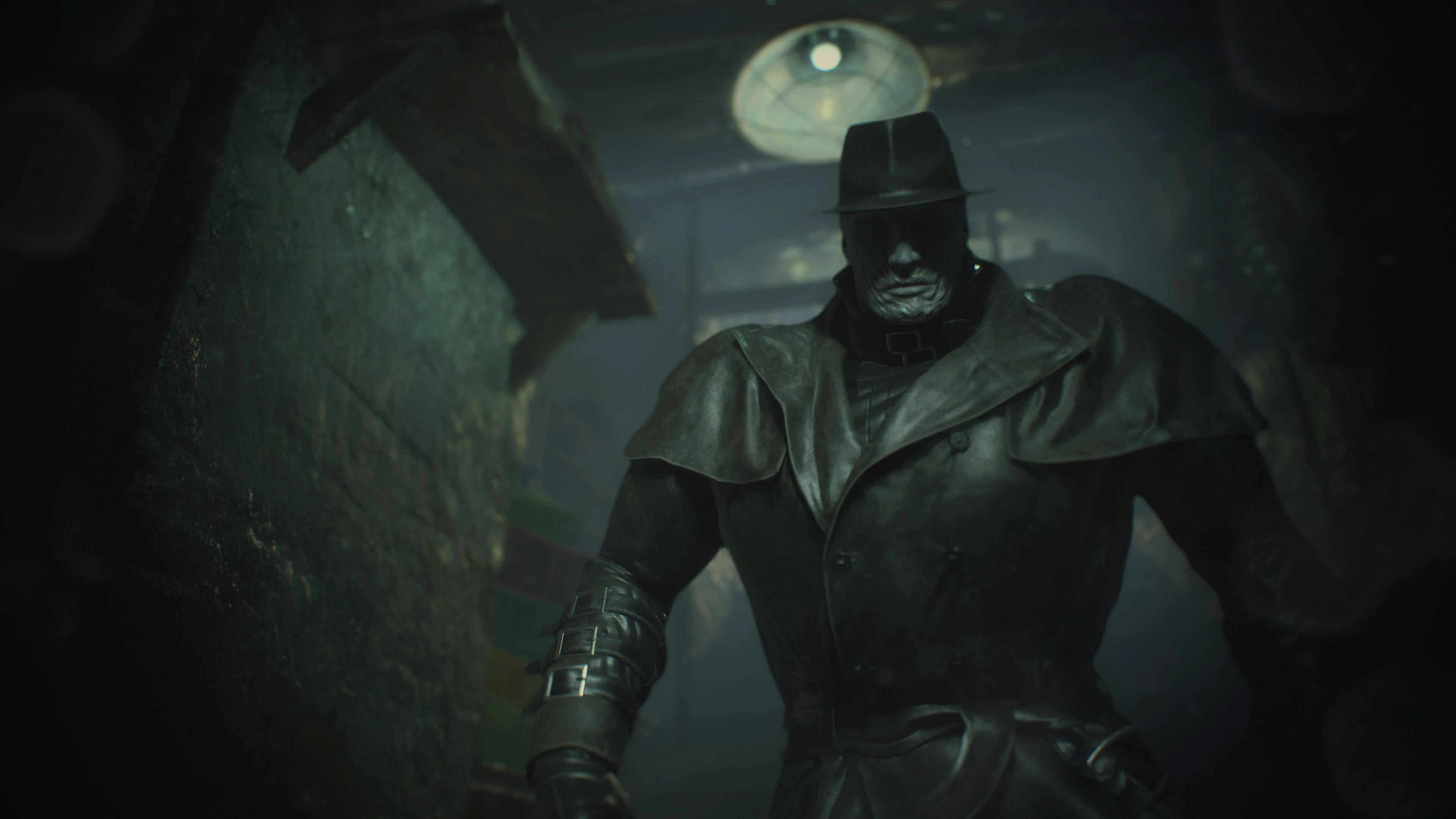 Resident Evil 2 Remake S Mr X Is The Perfect Panic Inducing Enemy