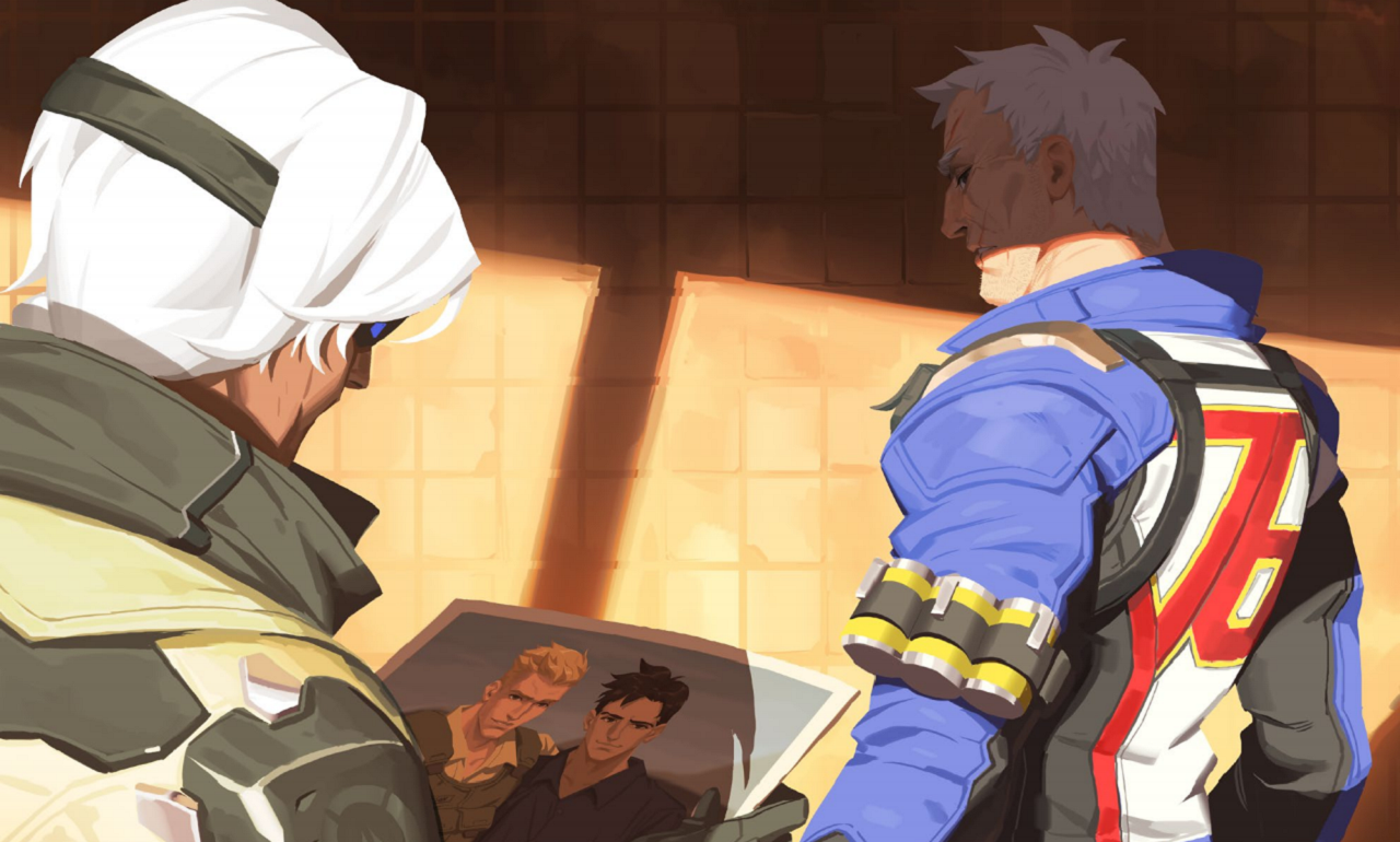 Blizzard Reveals Overwatch Hero Soldier 76 is Gay