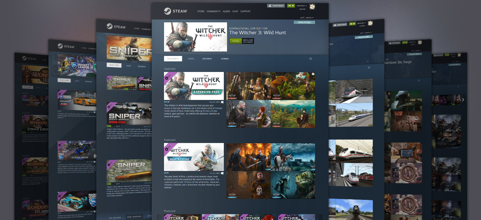 Steam's new DLC pages make browsing game add-ons much more