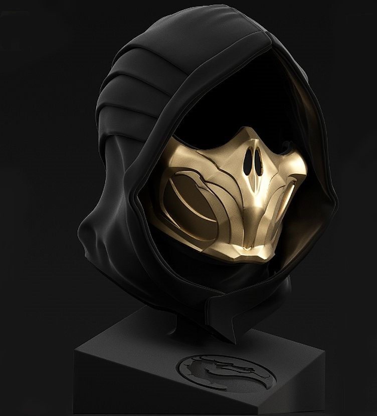 Mortal Kombat 11 Kollector S Edition Features 1 1 Scorpion Mask