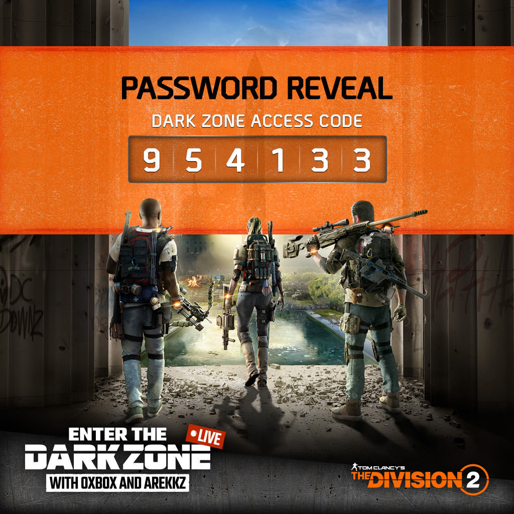 We have 3,000 codes to give away for The Division 2's