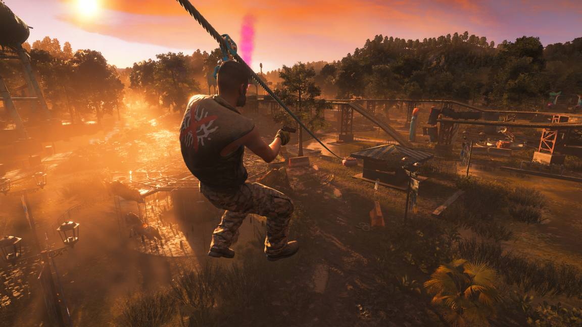Far Cry New Dawn Assessment Far Cry 5 Remixed With A Splash Of Pink