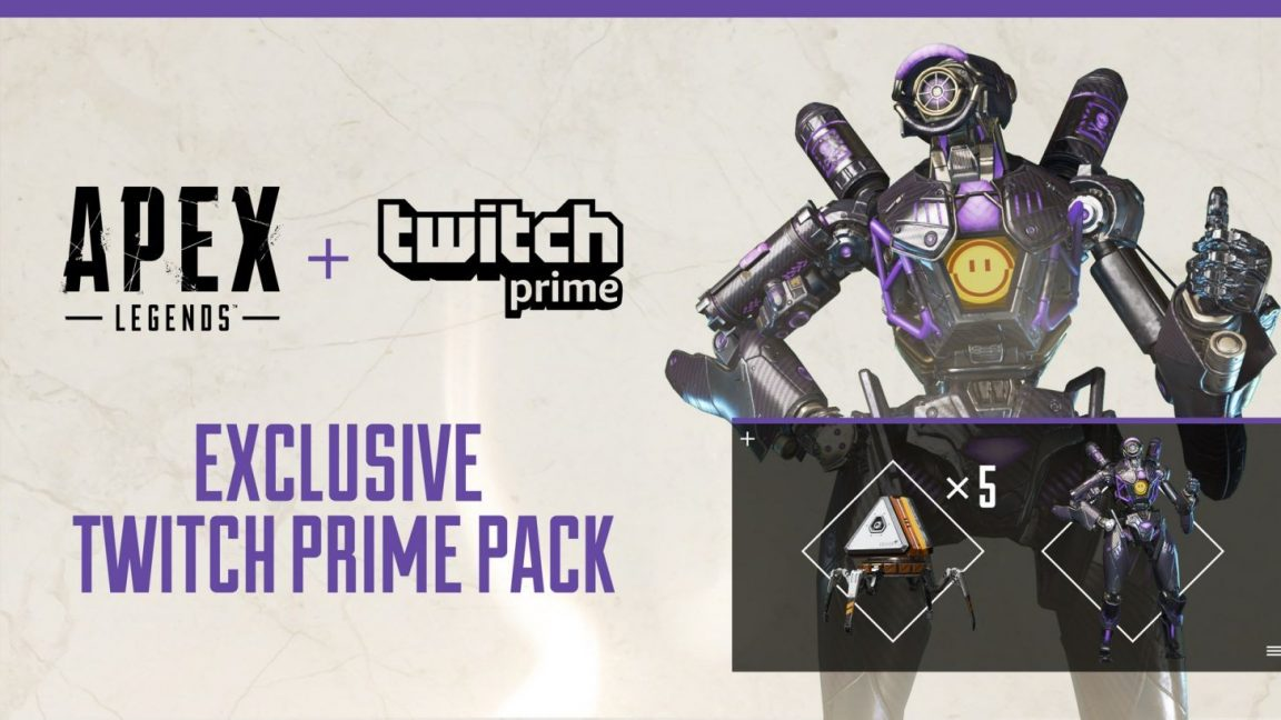 Apex Legends: get the Omega Pathfinder skin, 5 Apex Packs free with