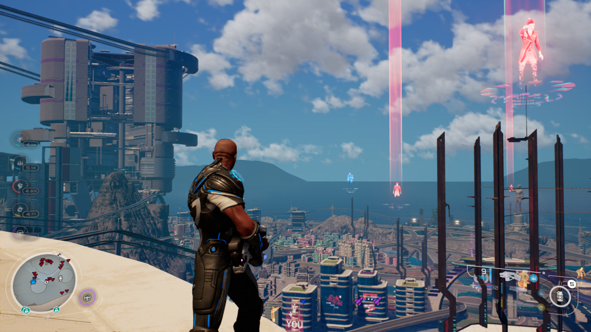 Crackdown 3 Review Terry Crews Sim Is A Minor Miracle