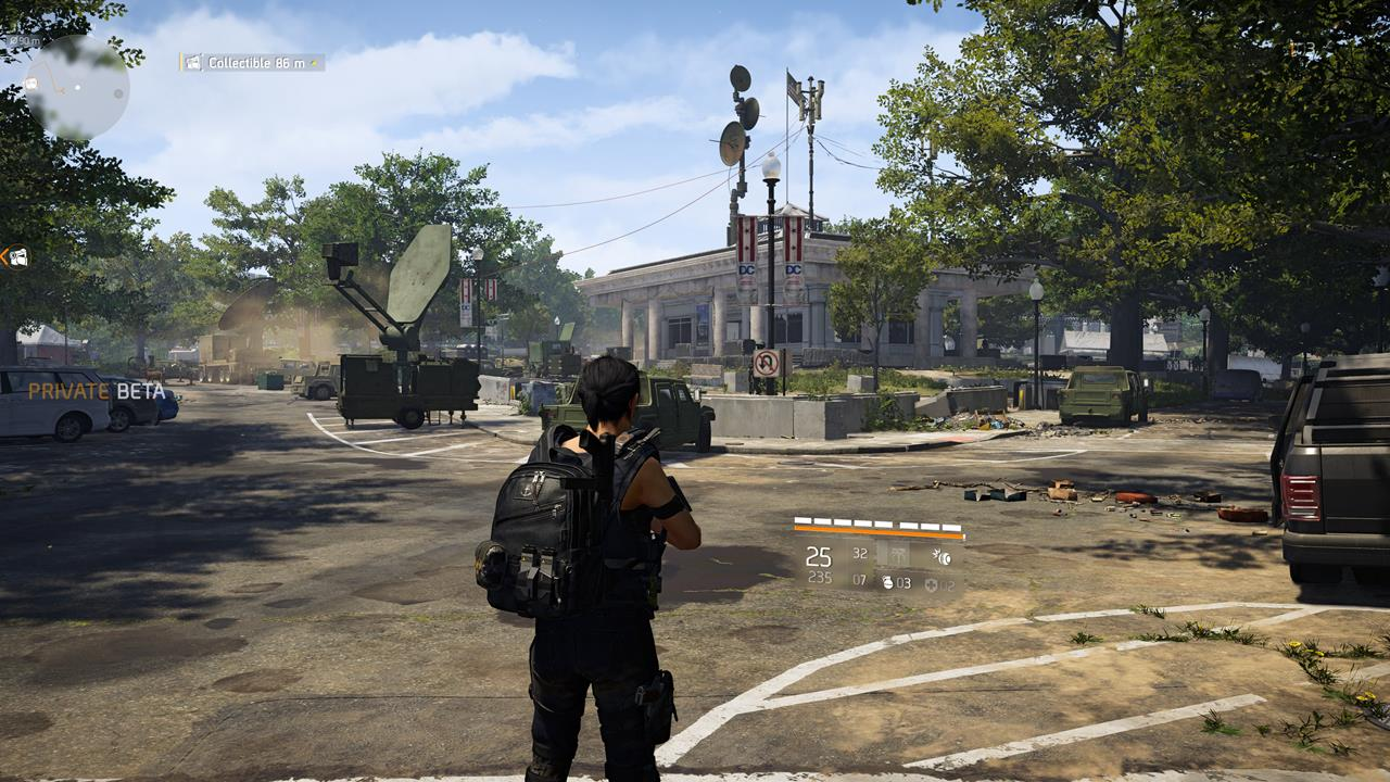 The Division 2: JTF Comms location information