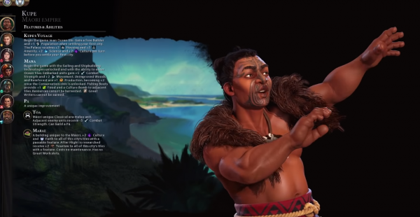 GAMING ZONE : Civilization 6: Gathering Storm – new leaders