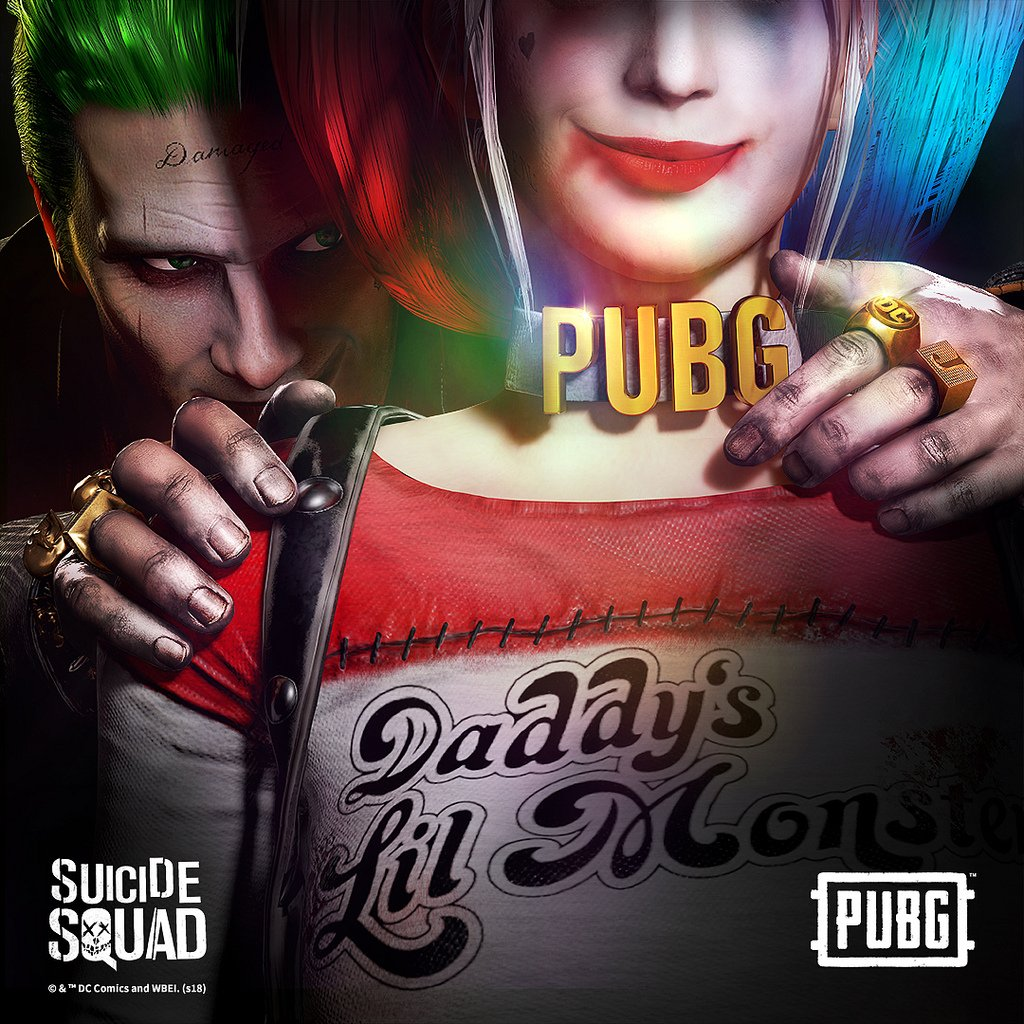PUBG's officially licensed Suicide Squad skins are on PS4 for the