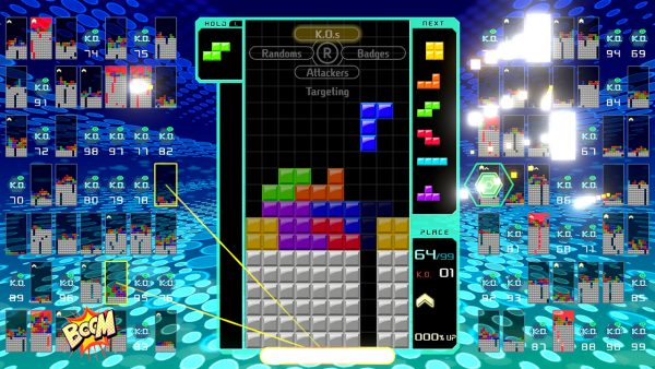 In This Guide Were Going To Look At Tetris 99s Rules Badges And Attack Modes Like The T Spin