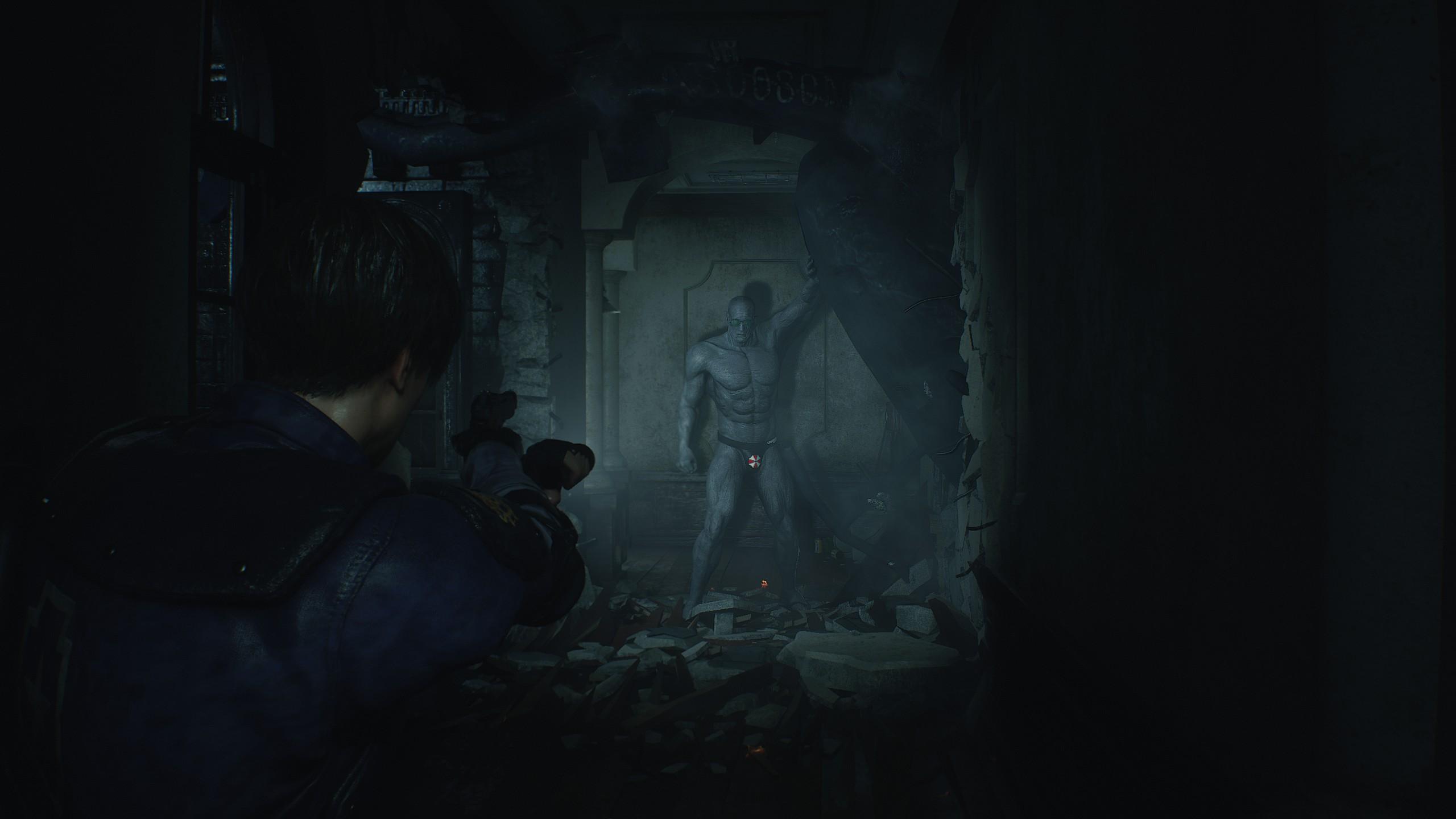 Resident Evil 2 speedo mod for Mr  X is rather terrifying