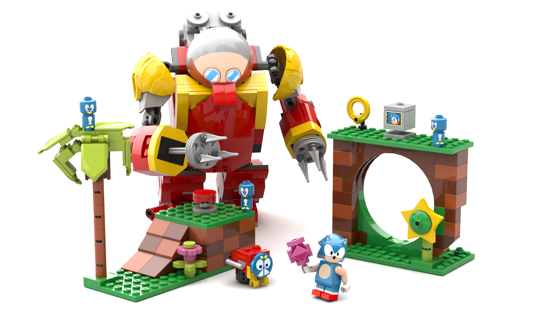 This Incredible Sonic The Hedgehog Lego Set Could Release If Fans Vote For It Vg247
