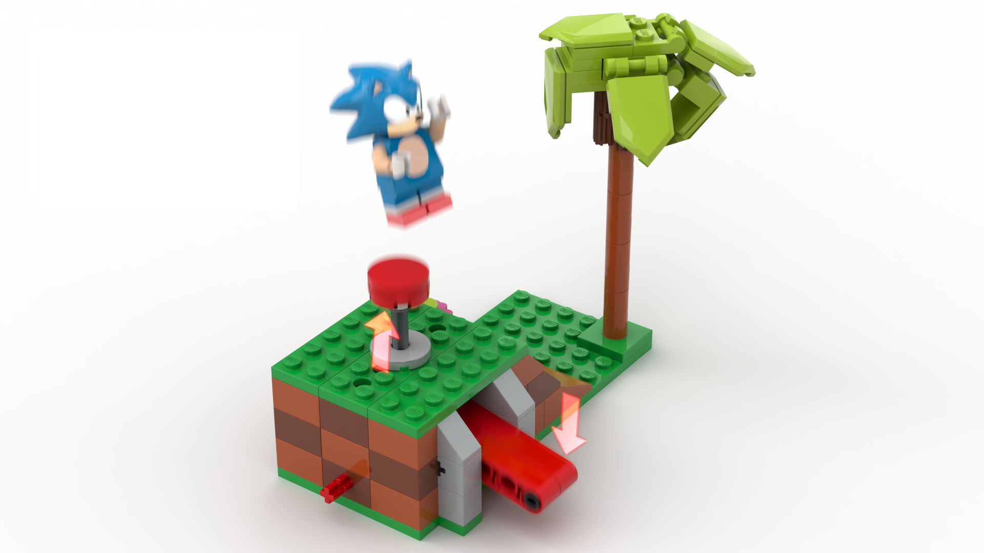This incredible Sonic the Hedgehog Lego set could release if