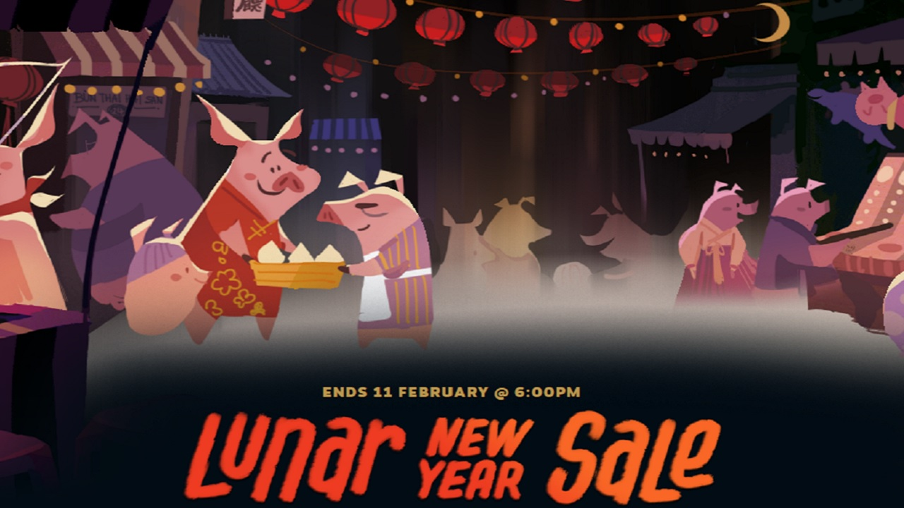 Steam Lunar New Year Sale 2019 includes red envelopes, bonus savings