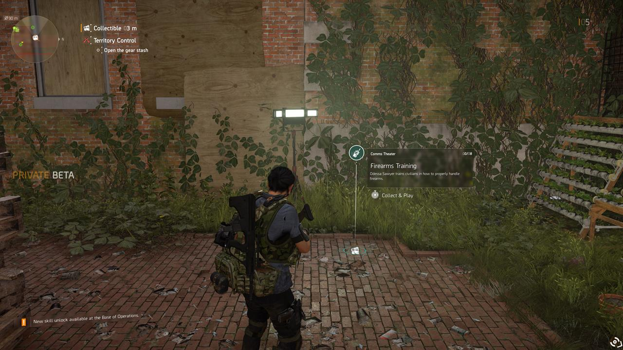 The Division 2: where to find all Theater Comms audio logs