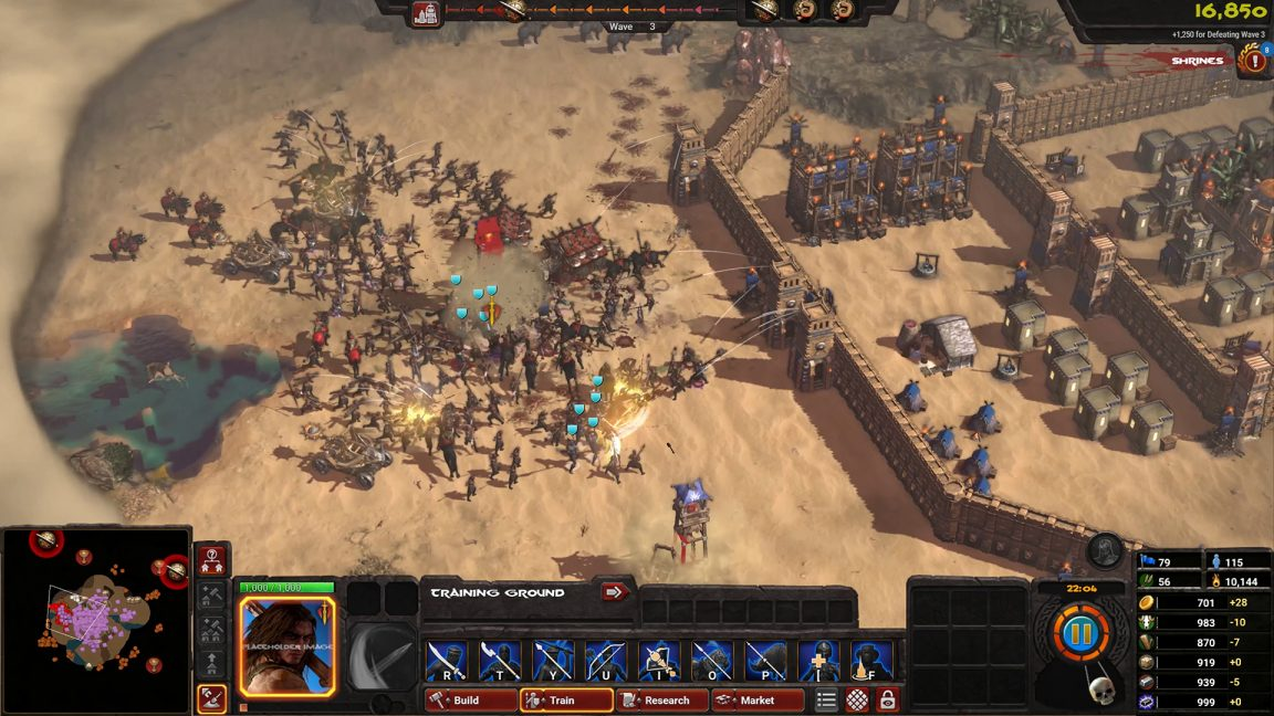 Conan Unconquered releases in May, take a look at the RTS game's