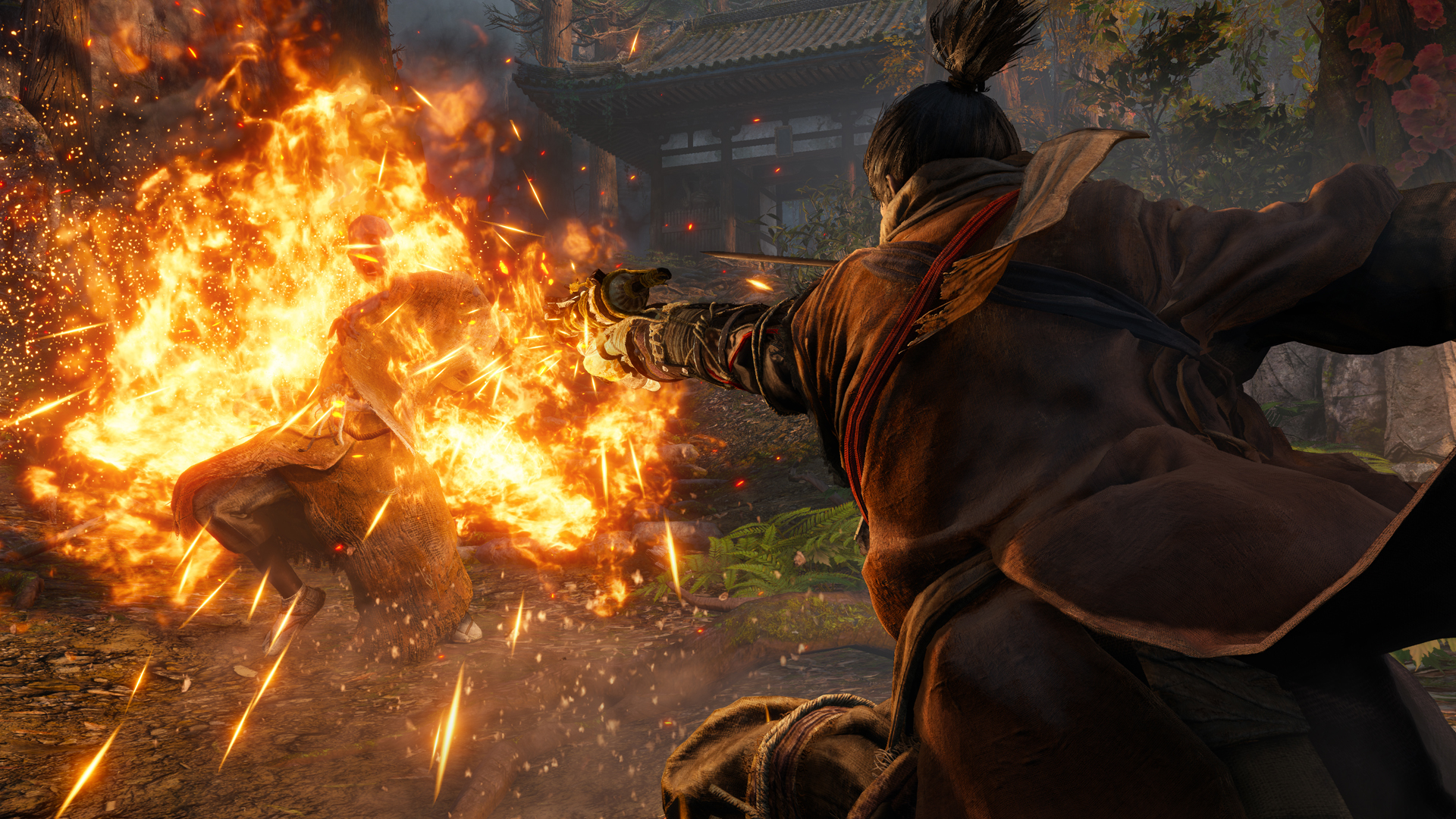Sekiro: Shadows Die Twice's 'shit got real' moment is among the most effective in games