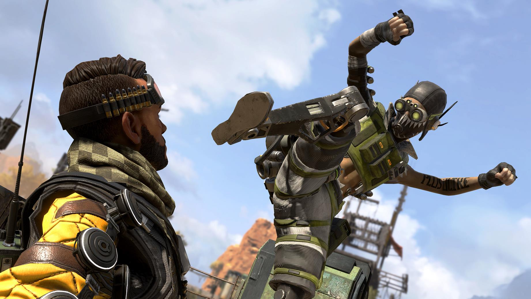 Apex Legends: 'piggyback' players who don't contribute will