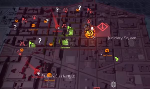GAMING ZONE : The Division 2: secret hunter mask locations