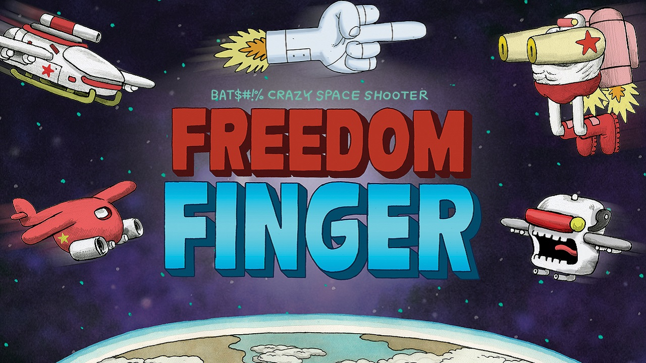 Freedom Finger is a classic schmup with a star-studded cast