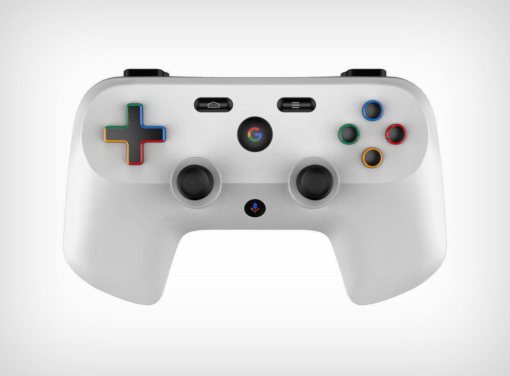 New patent might show the controller for Google's game streaming service