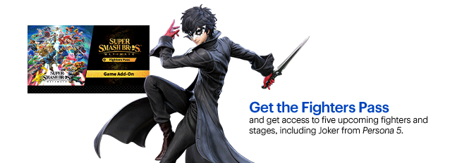 Super Smash Bros  Ultimate's Joker leaked thanks to a Best Buy blunder