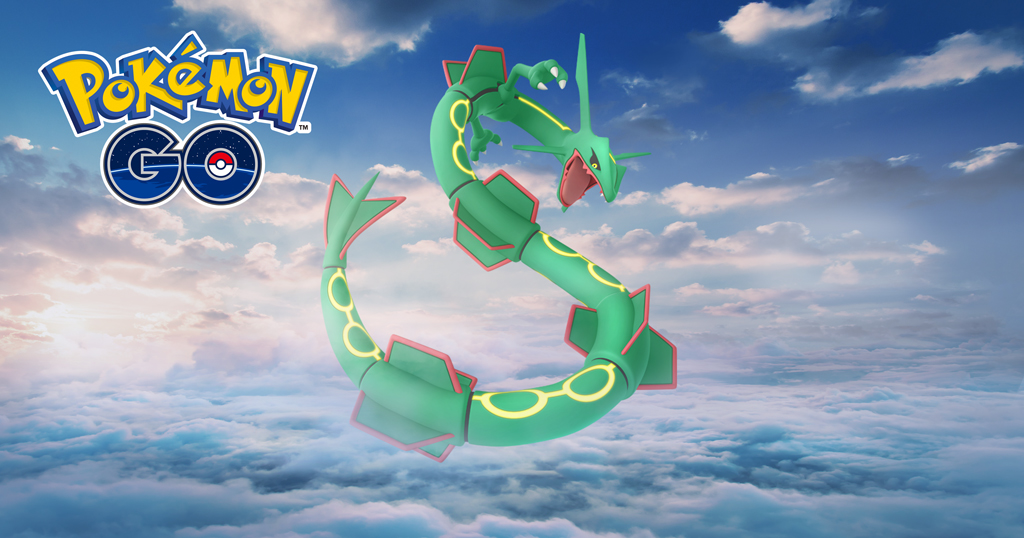 Pokemon Go Rayquaza Raid: counters and strategy to get