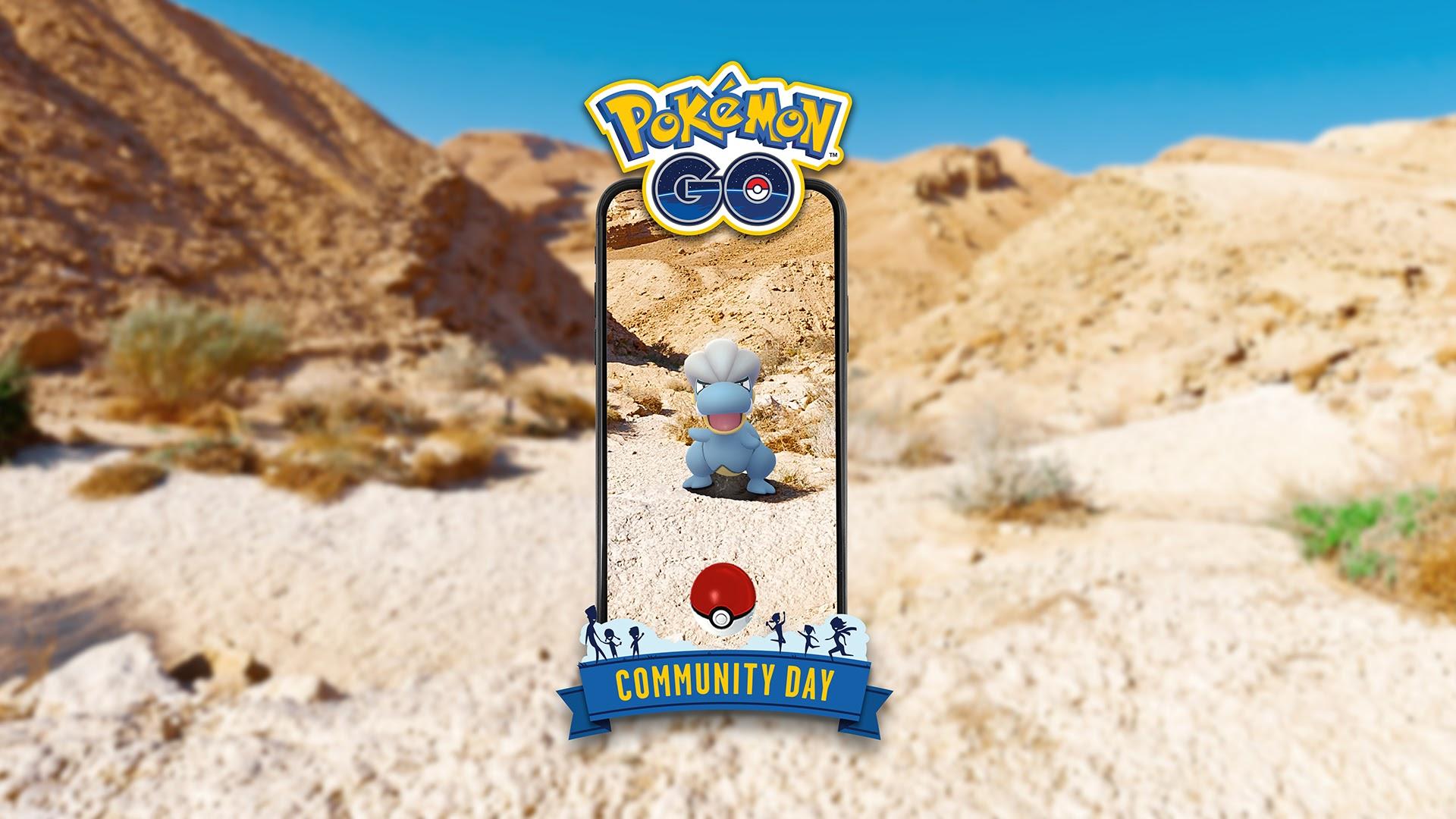 Pokemon GO's Bagon Community Day kicks off today