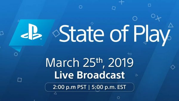 PlayStation software video showcase 'State of Play' set for March 25
