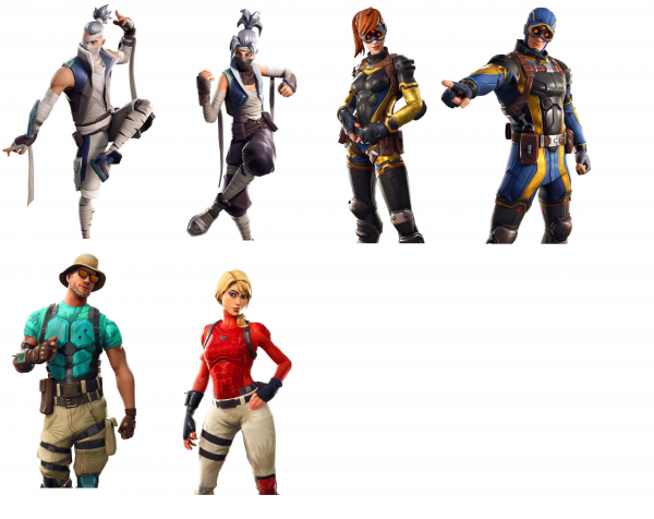 Fortnite New Skins And St Patrick S Day Items Leaked Vg247 - fortnite skins