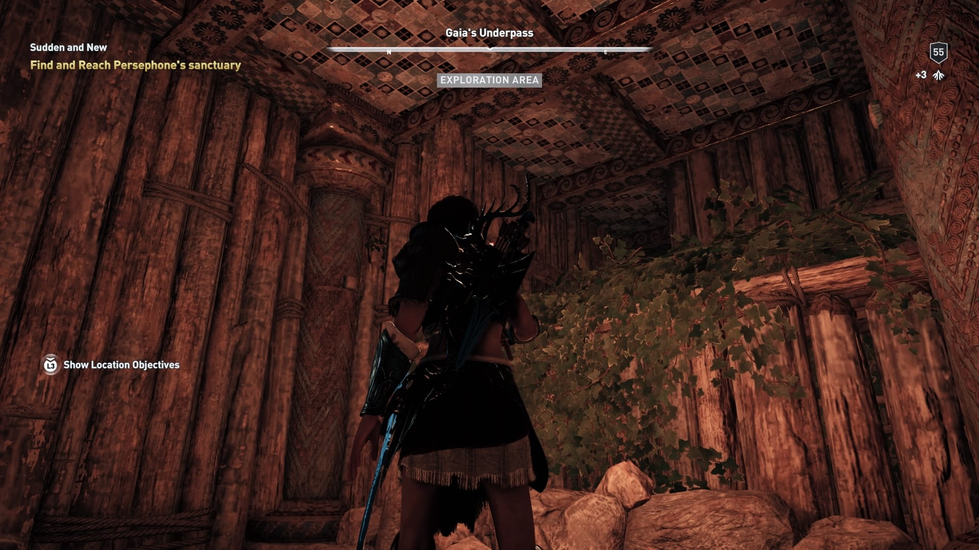 Assassins Creed Odyssey: guía de información del guardián: dónde encontrar todas las percepciones de Hermes 9