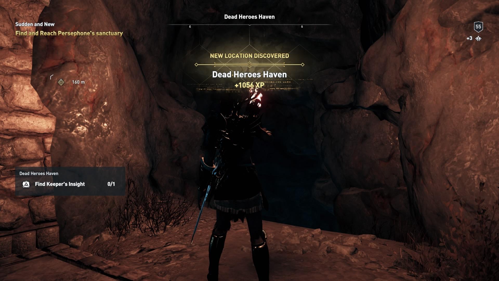 Assassins Creed Odyssey: guía de información del guardián: dónde encontrar todas las percepciones de Hermes 18