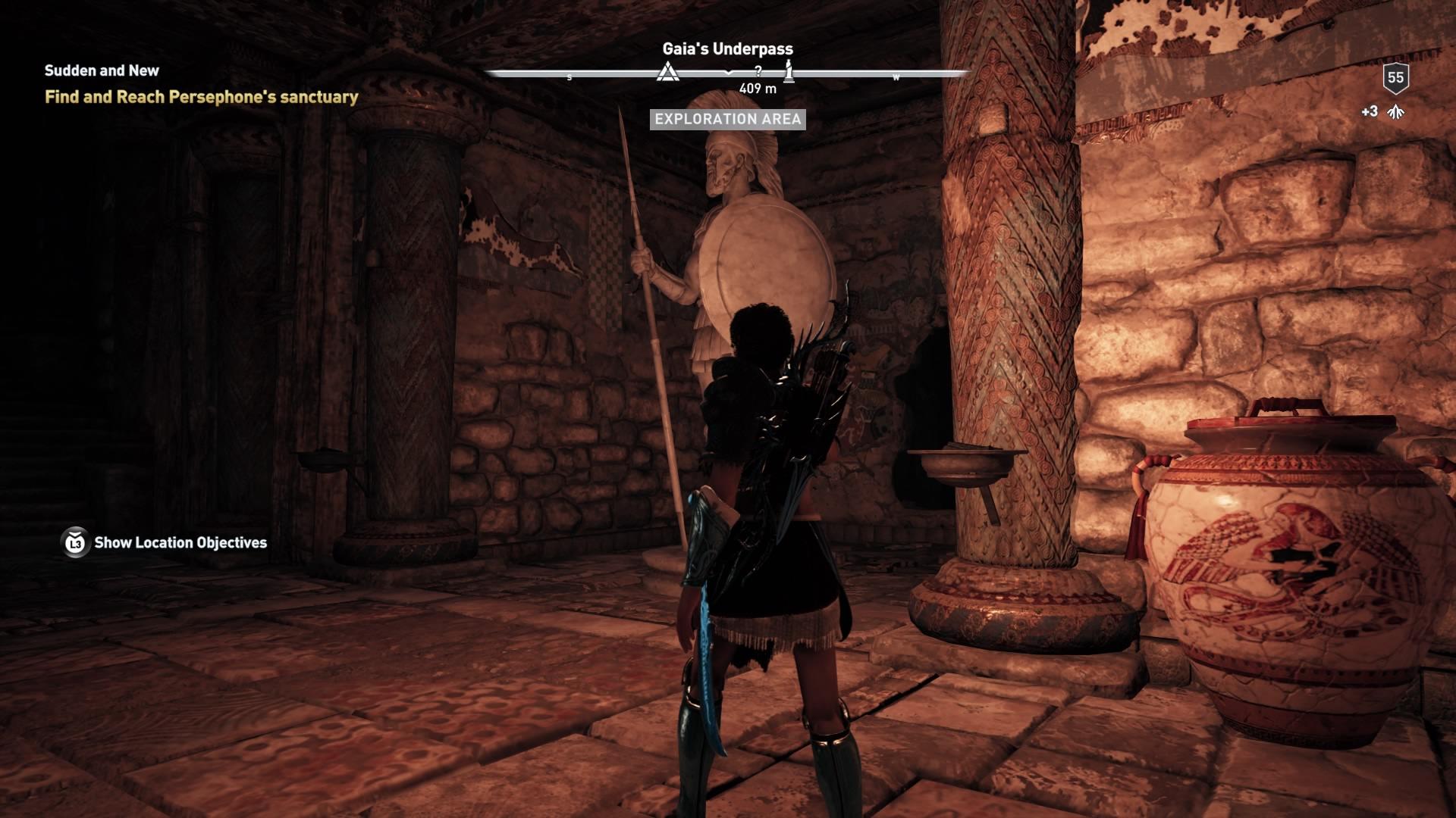 Assassins Creed Odyssey: guía de información del guardián: dónde encontrar todas las percepciones de Hermes 12