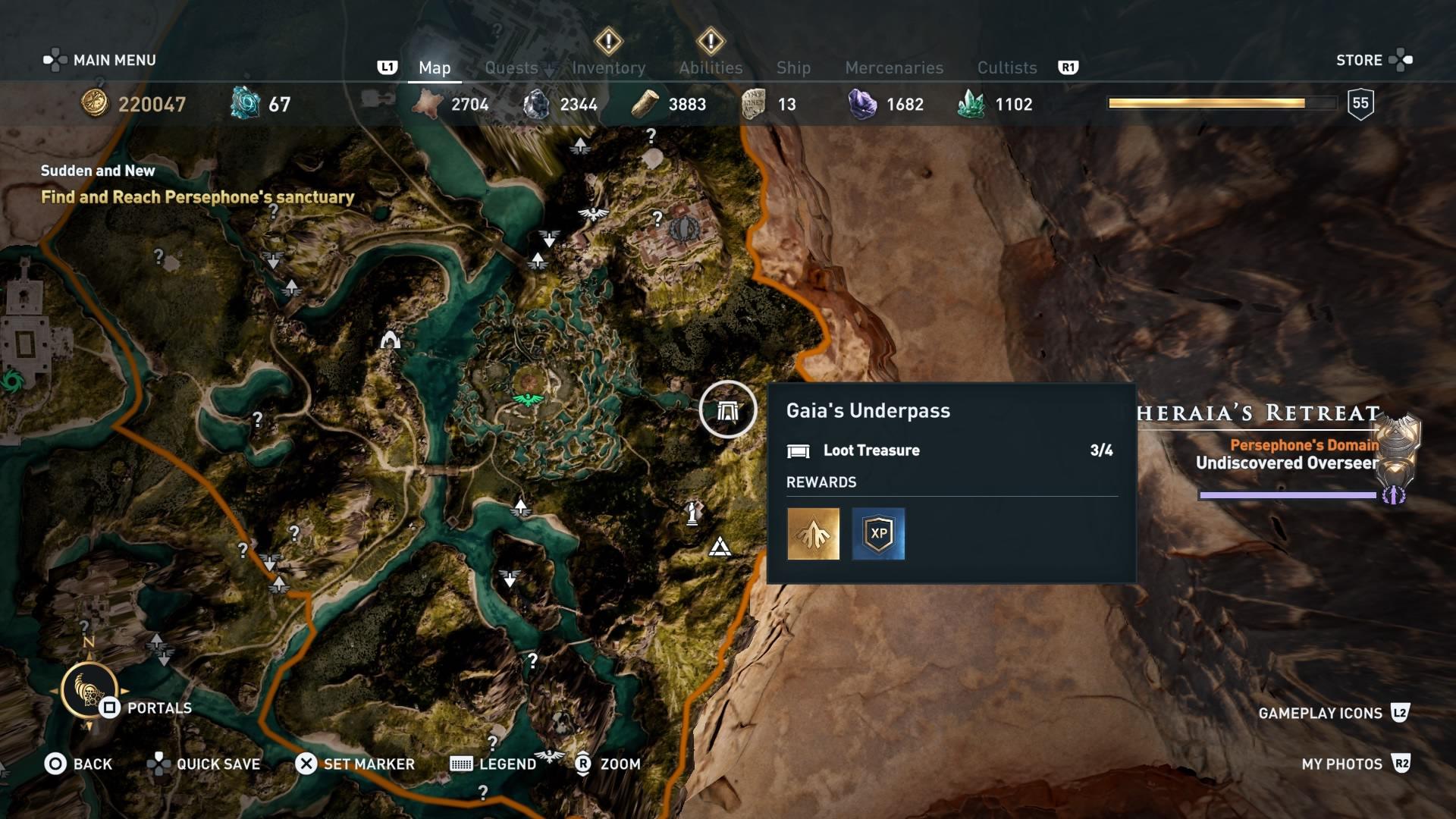 Assassins Creed Odyssey: guía de información del guardián: dónde encontrar todas las percepciones de Hermes 7