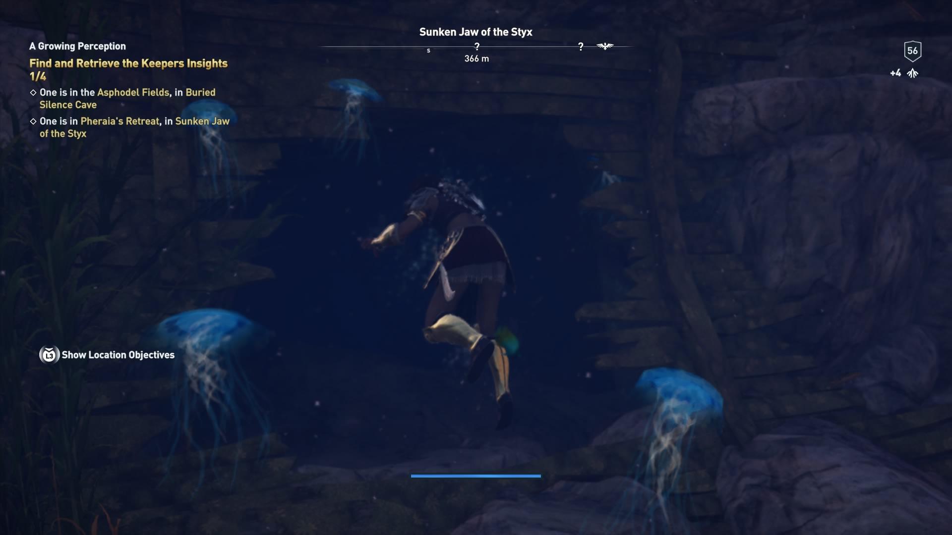 Assassins Creed Odyssey: guía de información del guardián: dónde encontrar todas las percepciones de Hermes 20