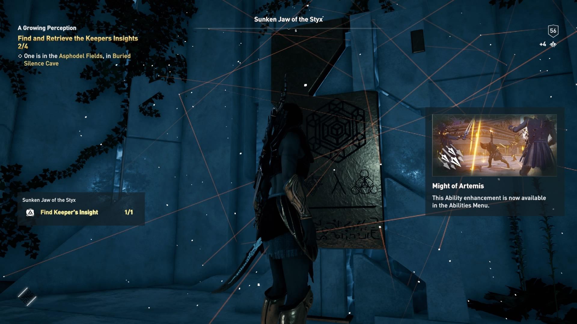 Assassins Creed Odyssey: guía de información del guardián: dónde encontrar todas las percepciones de Hermes 22