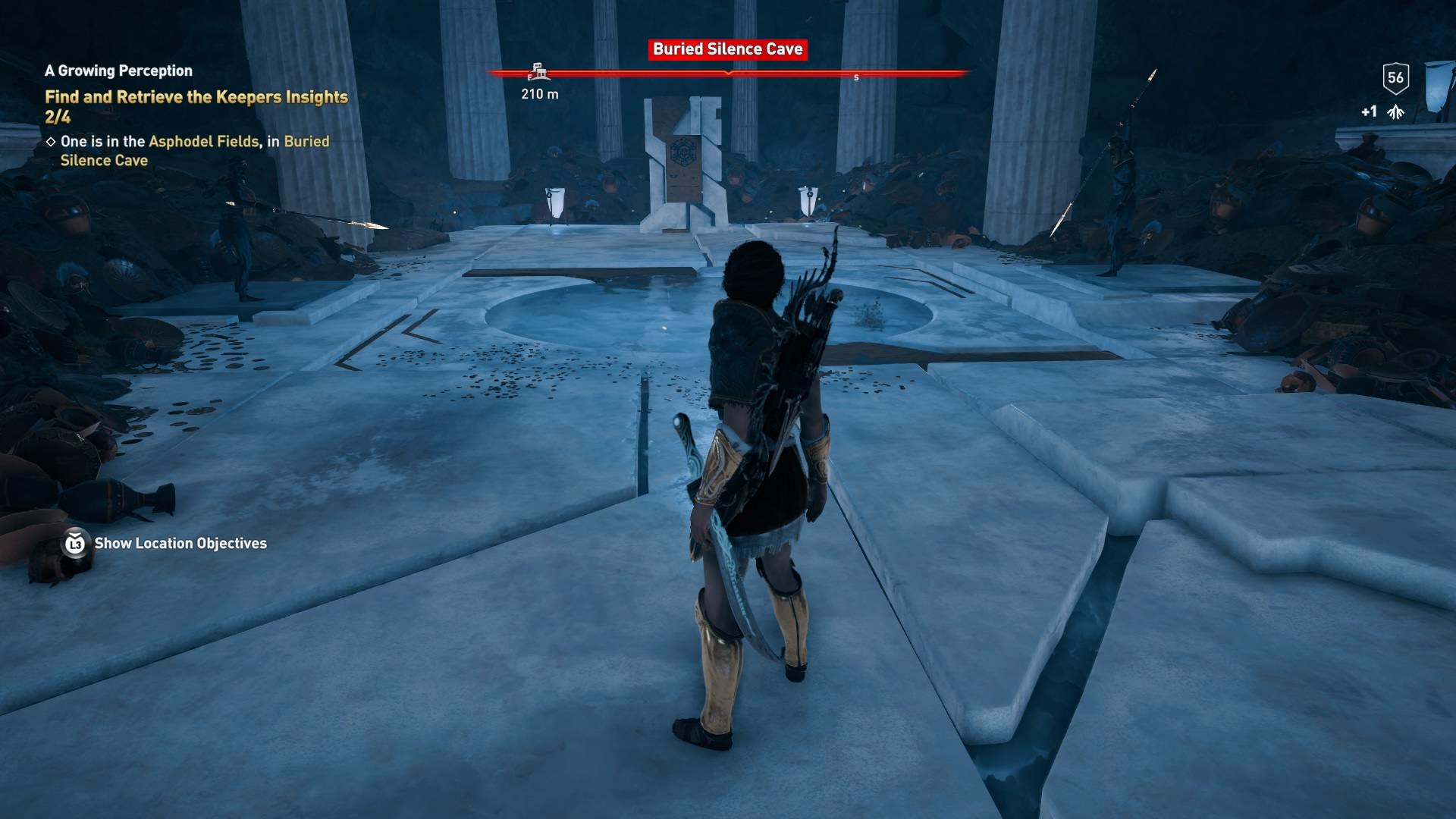 Assassins Creed Odyssey: guía de información del guardián: dónde encontrar todas las percepciones de Hermes 24