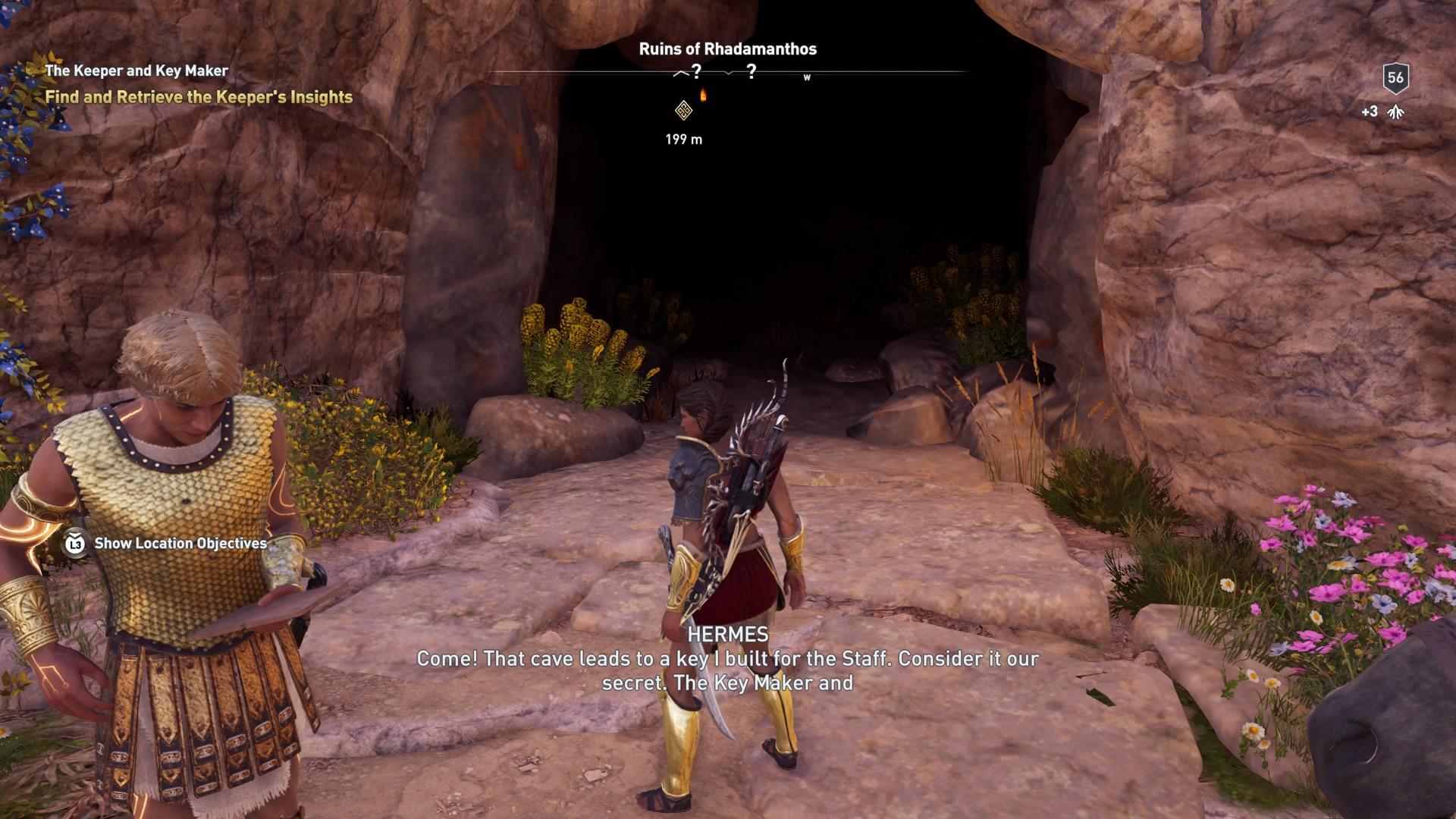 Assassins Creed Odyssey: guía de información del guardián: dónde encontrar todas las percepciones de Hermes 26