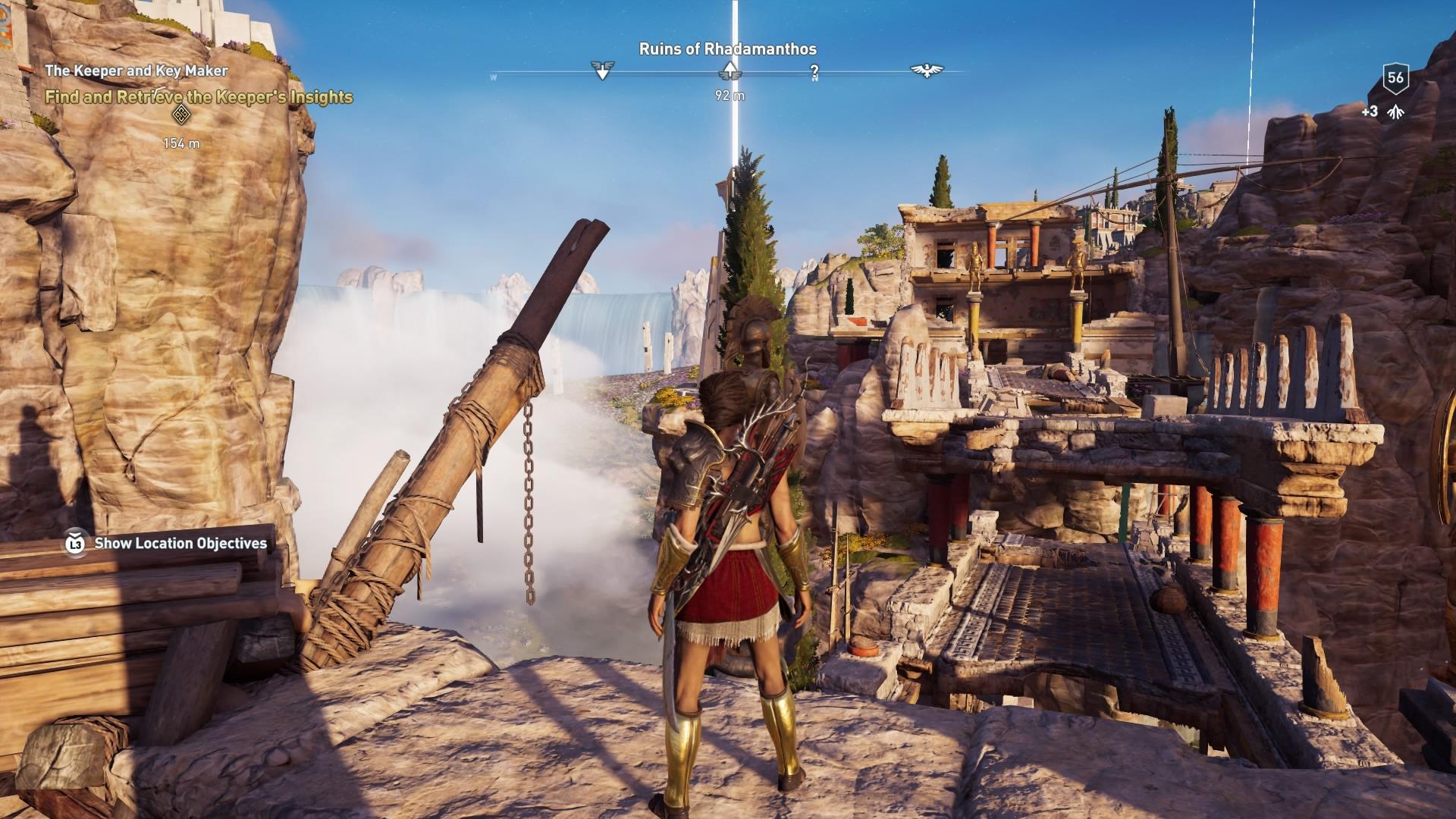 Assassins Creed Odyssey: guía de información del guardián: dónde encontrar todas las percepciones de Hermes 27
