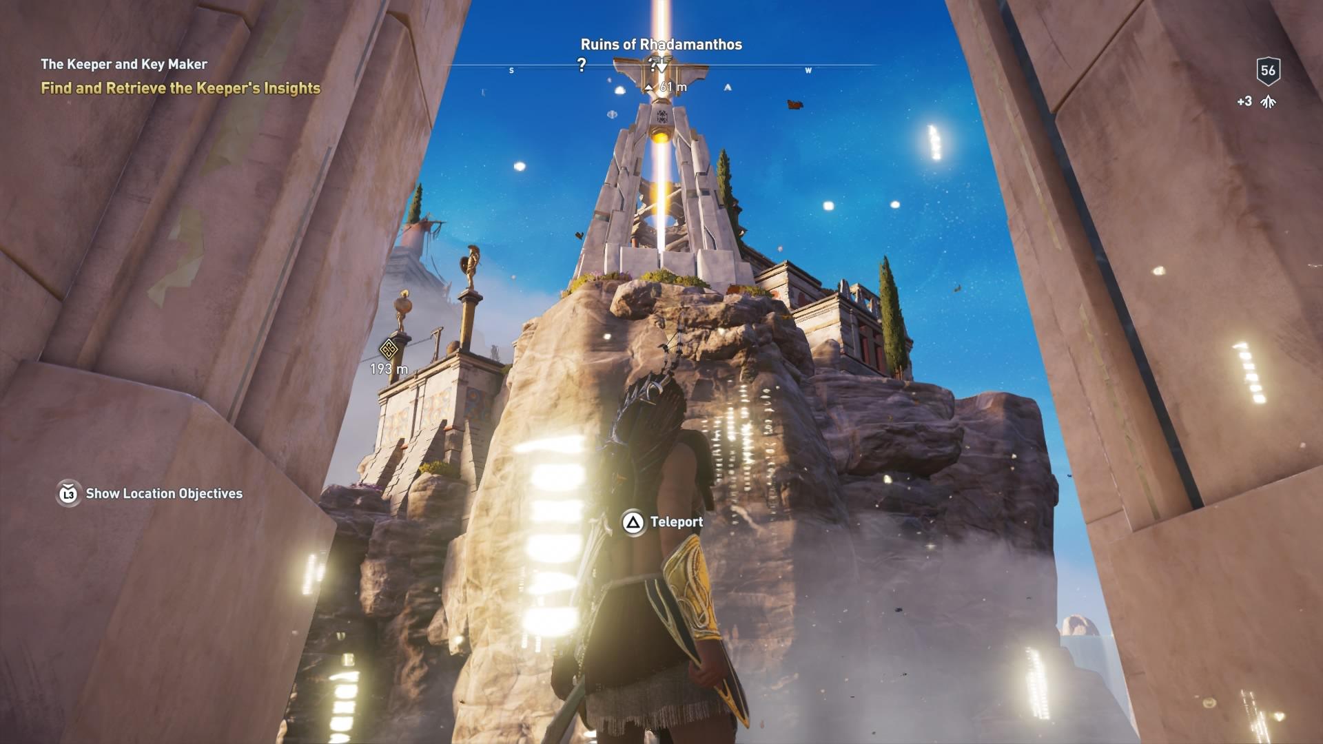 Assassins Creed Odyssey: guía de información del guardián: dónde encontrar todas las percepciones de Hermes 28